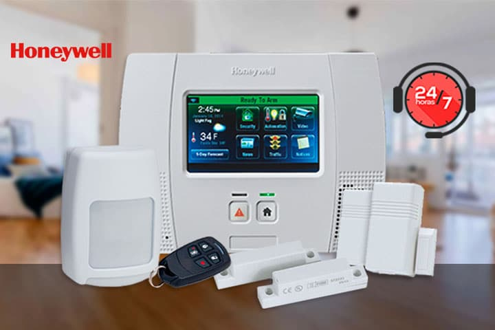 alarmas honeywell